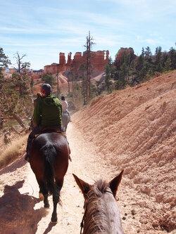 Balade à cheval, Bryce Canyon