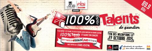 100% TALENTS 2015