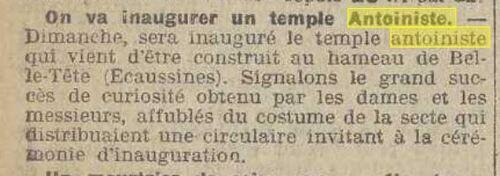 Temple Ecaussinnes