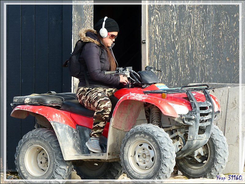 Motorisés (quads) - Gjoa Haven - King William Island - Nunavut - Canada