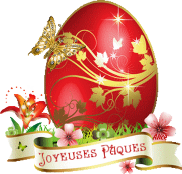 Joyeuses Pâques mes amies