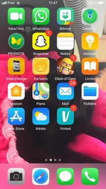 Wats on my phone ? ;)