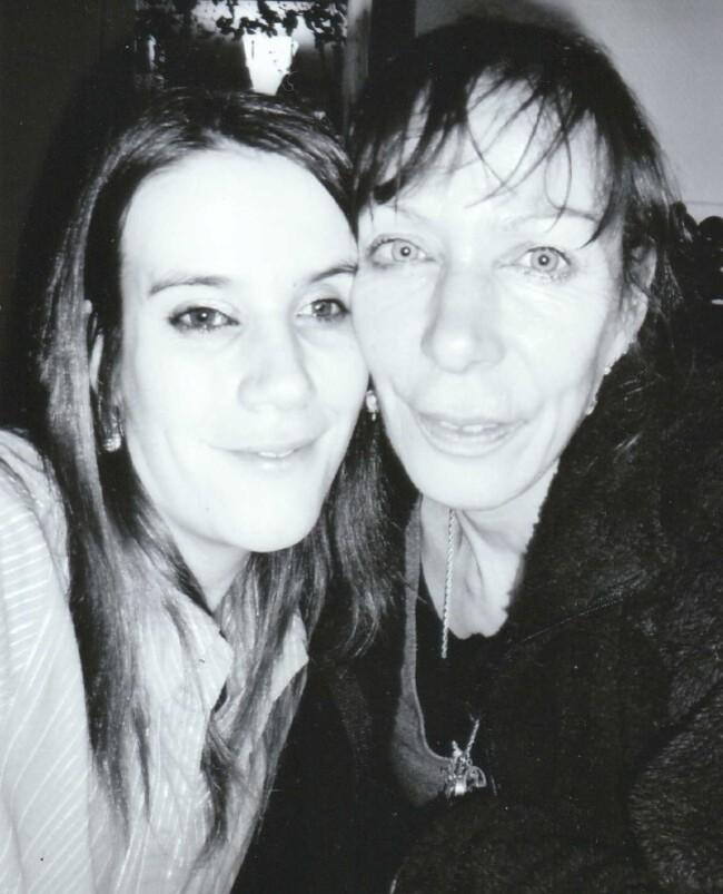 l'auteure et sa fille Maeva