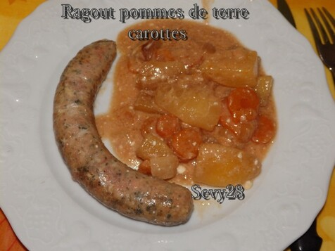Ragout pommes de terre carottes (mijot'cook)