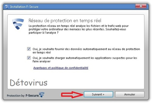 F-Secure Antivirus 2013 - Licence 1 an gratuit