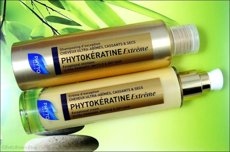 Découverte des soins capillaires phytokératine extrême.