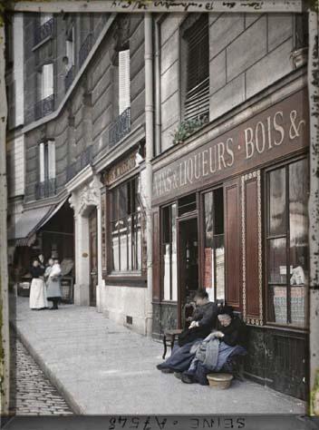 25 rue des Boulangers par Stéphane Passet ©Musée Albert-Kahn - Département des Hauts-de-Seine