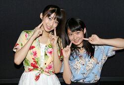 Makino Maria en event à Nagoya