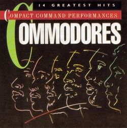 The Commodores - Compact Command Performances - Complete CD