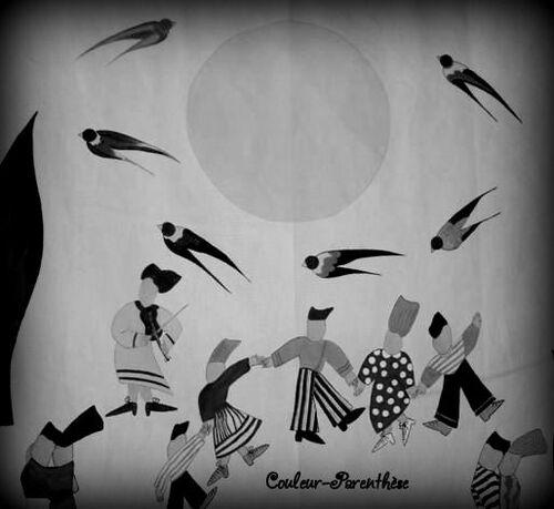 En noir et blanc!