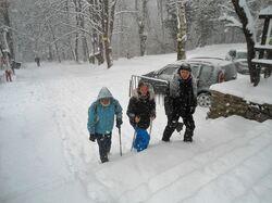 1ère rando neige !