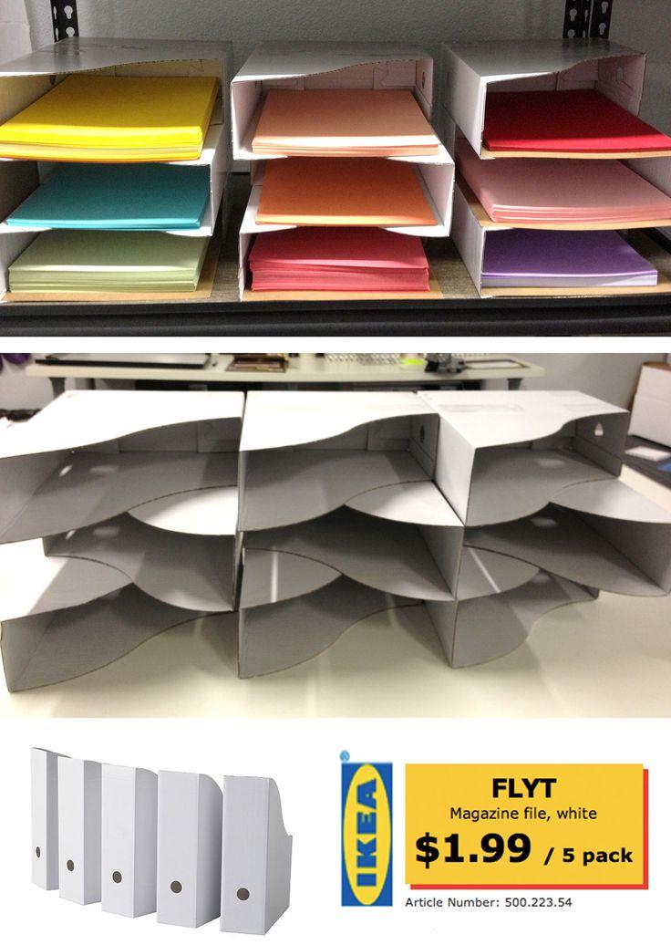 Des boites archives pour ranger du papier le coffre de - Comment ranger ses magazines ...
