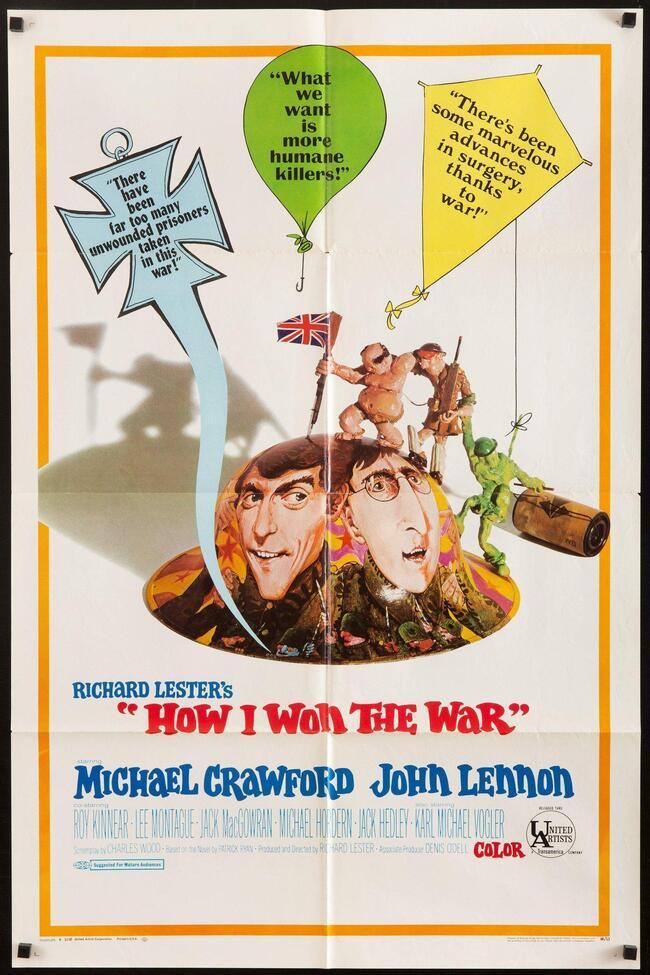 HOW I WON THE WAR  box office usa 1968