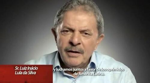 [vidéo] Message de l'ex-président Lula au peuple vénézuélien