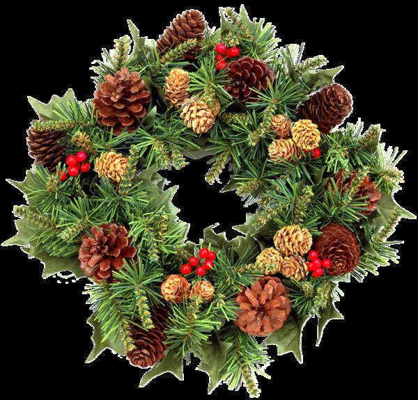 Tubes couronnes de Noël 2