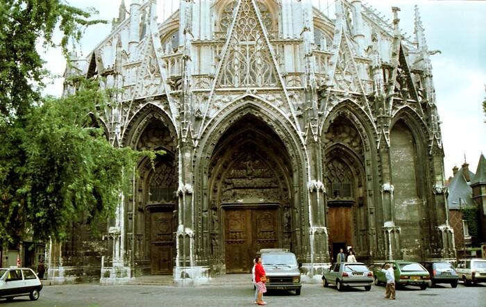 Rouen, Quartier St Maclou.