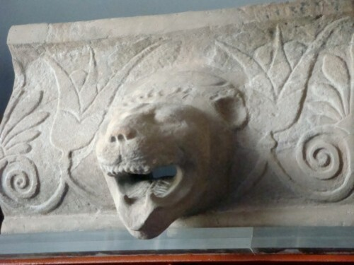 Sima du Temple d'Athéna
