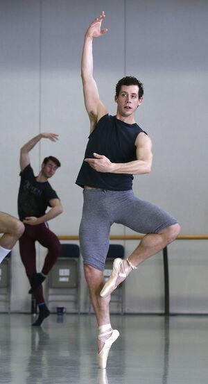 dance ballet class pointe ballet mens