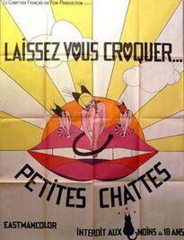 LAISSEZ-VOUS CROQUER PETITES CHATTES BOX OFFICE FRANCE 1971