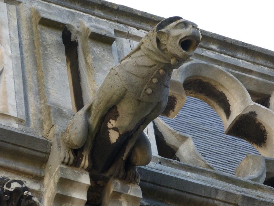 Gargouilles et chimères de la Cathédrale d'Amiens