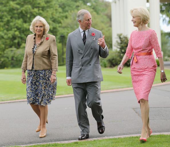 Charles et Camilla à Canberra