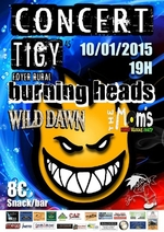 Burning Heads - Tigy - Loiret