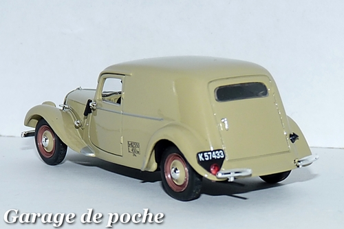 Traction 11 BL Fourgonnette Danoise 1950
