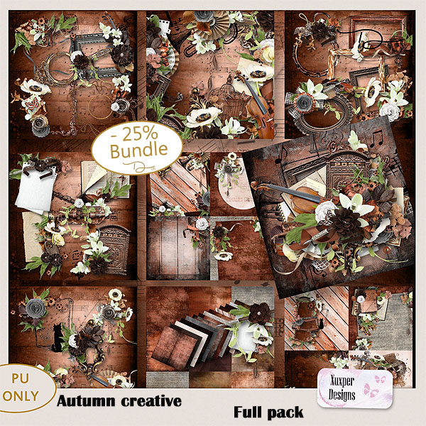 Autumn creative Full pack