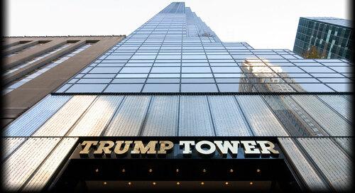 Trump et ses tours sombres
