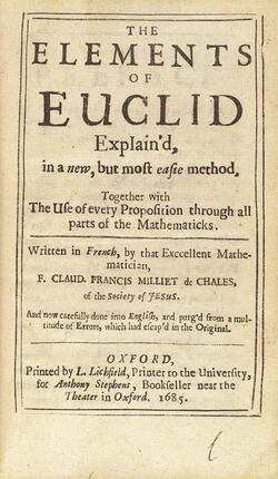 Euclide, ou l'art de démontrer !