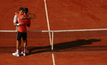 La belle accolade entre Wawrinka et Djokovic