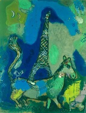 """Résultat de recherche d'images pour """"tour eiffel chagall"""""""