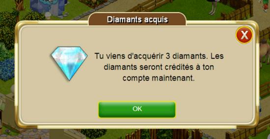 diamants gratuits étape 7