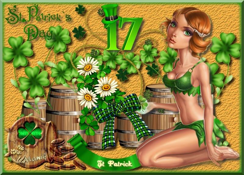 Défi pour Monia 59 Saint Patrick !