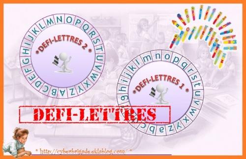 * Roue des lettres / autonomie *