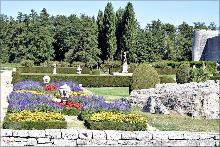 Photos château de la Roche-Courbon - les jardins