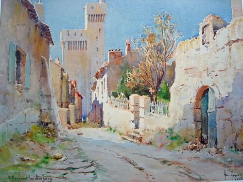 Peinture d' : Emile APPAY