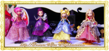 ever after high - trone coming