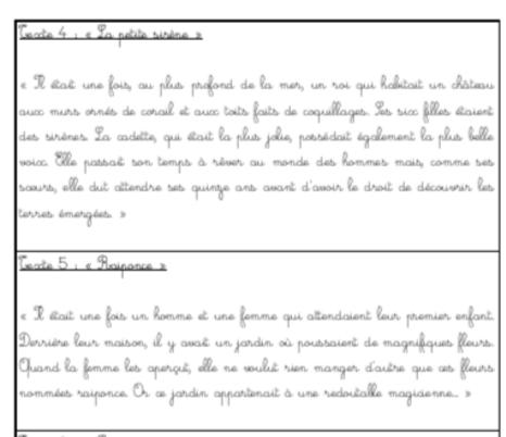 Rallye copie CE1 «Les contes traditionnels»
