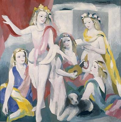 Marie Laurencin (1883-1956) - Une fragrance raffinée