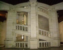 Chambord - Grand escalier