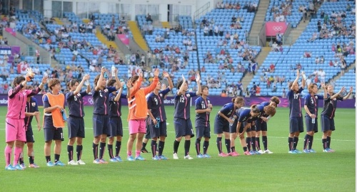 JO 2012 Foot Féminin : Japon-Canada 2-1