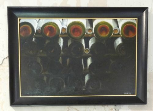 L'exposition 2011 d'Emma Koens au Puiset..