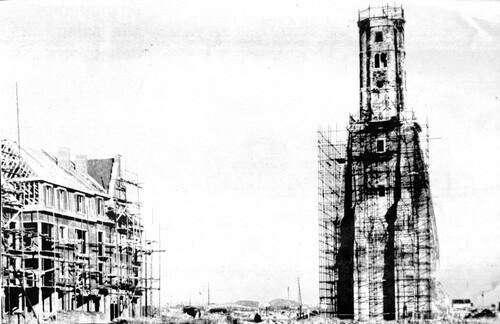La restauration de la tour du Guet dès 1948