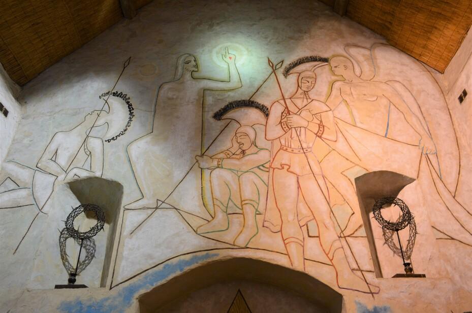 Milly-la-Forêt, chapelle Saint-Blaise-des-Simples