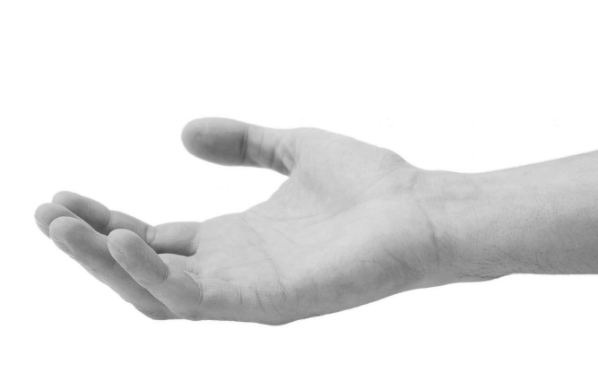 Tends ta main afin que je te prête serment d'allégeance