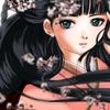 Jeune fille en kimono