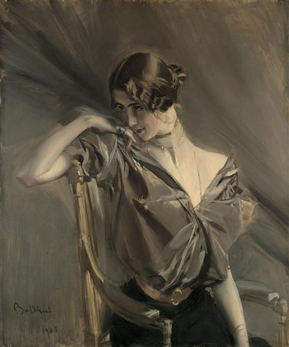Cleo de Merode - Giovanni Boldini