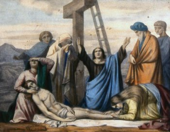 Decimotercera Estación: Jesús es bajado de la cruz y entregado a su Madre - Vía Crucis 2013