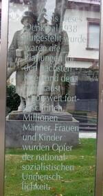 Transparente Beschriftung in Radolfzell